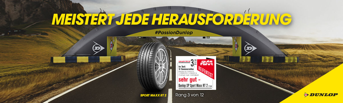 Dunlop Sport Maxx RT2