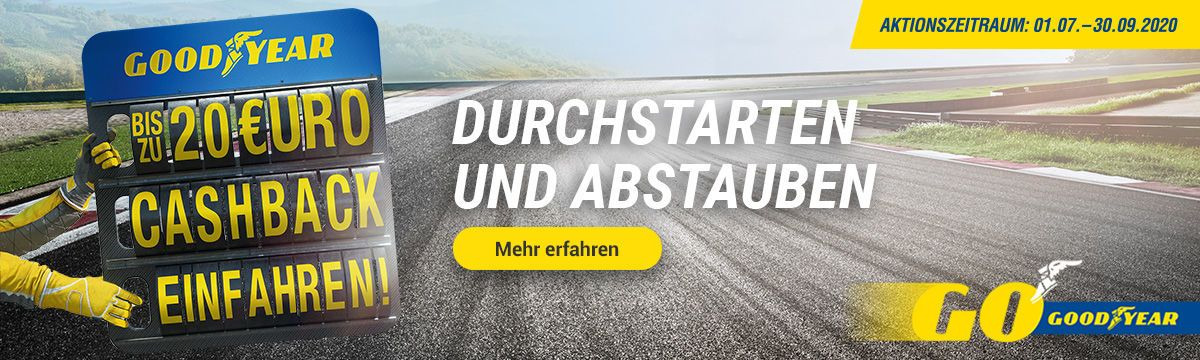 Bis zu 20 Euro Cashback sichern!